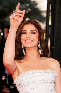 Nadia Fares at the premiere of