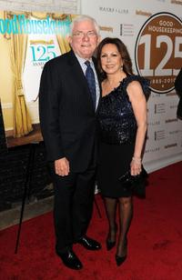 Phil Donahue and Marlo Thomas at the Good Housekeeping's 125th anniversary.