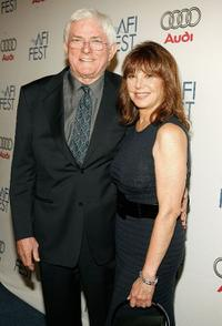 Phil Donahue and Marlo Thomas at the AFI FEST 2007.