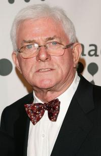 Phil Donahue at the 18th Annual GLAAD Media Awards.