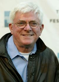 Phil Donahue at the 2004 Tribeca Film Festival.