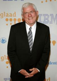 Phil Donahue at the 20th Annual GLAAD Media Awards.
