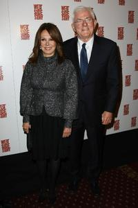 Marlo Thomas and Phil Donahue at the opening night of