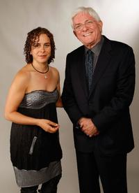 Ellen Spiro and Phil Donahue at the AFI FEST 2007.