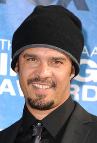 Michael Franti at the 42nd NAACP Image Awards in California.