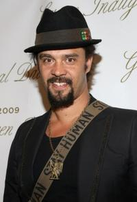 Michael Franti at the Green Inaugural Ball 2009.