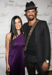 Lisa Ling and Michael Franti at the Green Inaugural Ball 2009.