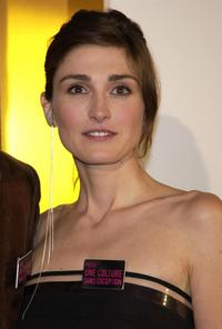 Julie Gayet at the 29th Nuit des Cesars.