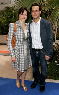 Martina Gedeck and Robert Seeliger at the photocall of