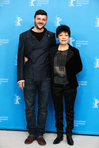 Bogdan Dumitrache and Luminita Gheorghiu at the photocall of