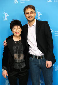Luminita Gheorghiu and Calin Peter Netzer at the photocall of