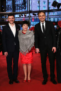 Bogdan Dumitrache, Luminita Gheorghiu and Calin Peter Netzer at the premiere of