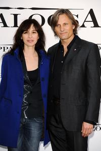 Ariadna Gil and Viggo Mortensen at the photocall of