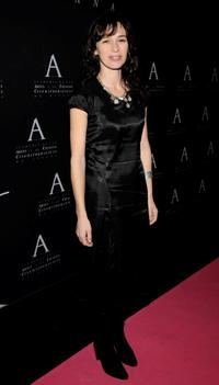 Ariadna Gil at the Spanish Cinema Academy Gold Medal Award 2008 ceremony.