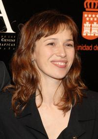 Ariadna Gil at the Goya Awards Nomination Gala.