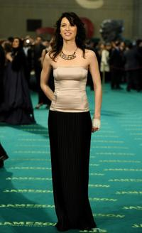 Ariadna Gil at the Goya Cinema Awards 2009 ceremony.