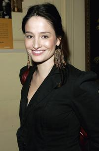 Marie Gillain at the Renault French Film Festival 2006.