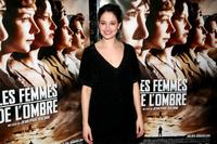 Marie Gillain at the Paris premiere of