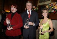 Maureen McGovern, Sam Donaldson and Susan Lucci at the AFTRA Media and Entertainment Excellence Awards.