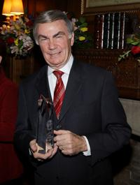 Sam Donaldson at the AFTRA Media and Entertainment Excellence Awards.