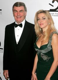 Sam Donaldson and Claudia Gerini at the American-Italian Cancer Foundation Annual Benefit Gala.