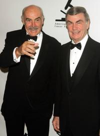 Sean Connery and Sam Donaldson at the American-Italian Cancer Foundation Annual Benefit Gala.