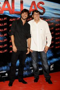 Hugo Silva and Carmelo Gomez at the premiere of