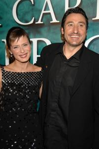 Aitana Sanchez Gijon and Carmelo Gomez at the premiere of