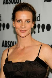Rachel Griffiths at the 18th Annual GLAAD Media Awards.