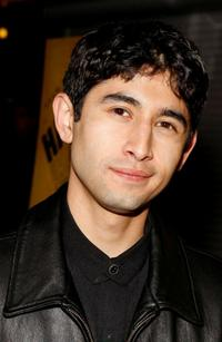 Jonathan Hernandez at the premiere of