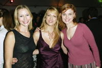 Meredith Monroe, Lori Heuring and Emily Deschanel at the opening party of Nanette Lepore boutique.