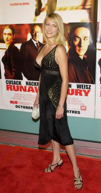 Lori Heuring at the premiere of