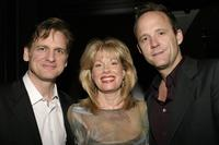 Daniel McDonald, Marin Mazzie and John Benjamin Hickey at the Roundabout Theatre Company's 2004 Spring Gala Celebration.
