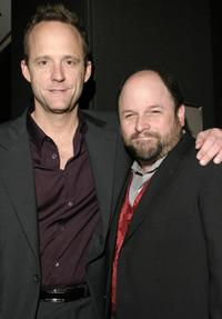 John Benjamin Hickey and Jason Alexander at the Roundabout Theatre Company's 2004 Spring Gala Celebration.