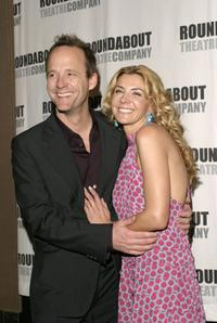 John Benjamin Hickey and Natasha Richardson at the Roundabout Theatre Company's 2004 Spring Gala Celebration.