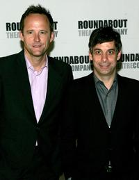 John Benjamin Hickey and Joe Mantello at the Roundabout Theater 2005 Spring Gala.