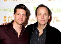 Christopher Sieber and John Benjamin Hickey attend