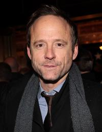 John Benjamin Hickey at the Broadway opening night of