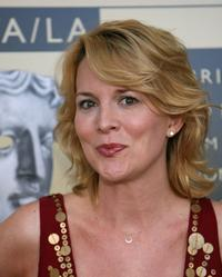Laurel Holloman at the BAFTA/LA-Academy of Television Arts and Sciences Tea party.