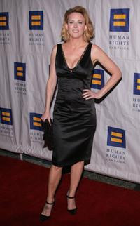 Laurel Holloman at the season three premiere of