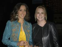 Jennifer Beals and Laurel Holloman at the season three premiere of