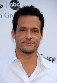 Josh Hopkins at the Disney-ABC Television Group Summer Press Tour party.