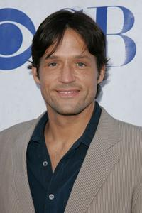 Josh Hopkins at the premiere of the new CBS show