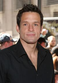 Josh Hopkins at the WB Upfront at Madison Square Garden.