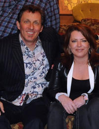 Jake Johannsen and Kathleen Madigan at the CMT Presents Ron White Comedy Saltue To The Troops in Tennessee.