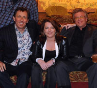 Jake Johannsen, Kathleen Madigan and Ron White at the CMT Presents Ron White Comedy Saltue To The Troops in Tennessee.