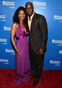 Denise Boutte and Richard T. Jones at the 12th Annual American Black Film Festival Closing of