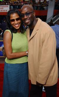 Nacy and Richard T. Jones at the world premiere screening of