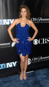 Melina Kanakaredes at the CSI: NY 100th episode celebration.