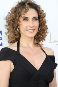 Melina Kanakaredes at the seventh Annual Comedy for a Cure benefit.